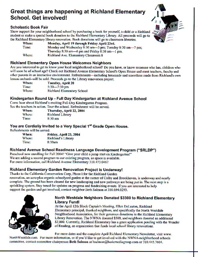 April 2004 NWNA Newsletter - Page 3